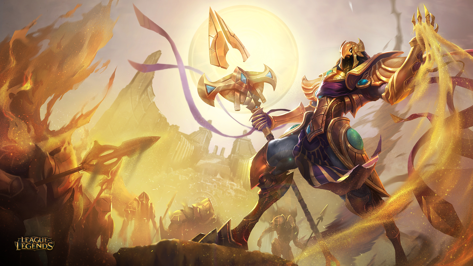 Azir O Imperador Das Areias é Revelado League Of Legends