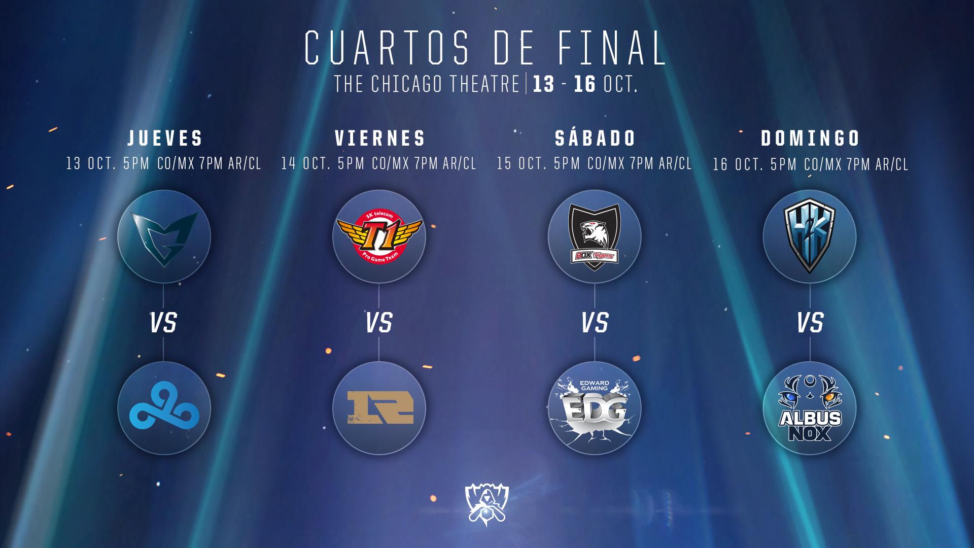 Conoce Más de los Cuartos de Final   LoL Esports LAS