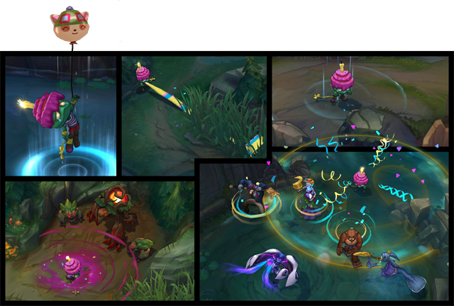 ... and cheer up Surprise Party Amumu (1350 RP*) with Definitely Not Udyr  (975 RP,) Archduke Nasus (750 RP,) Order of the Banana Soraka (750 RP,) or  Urf ...