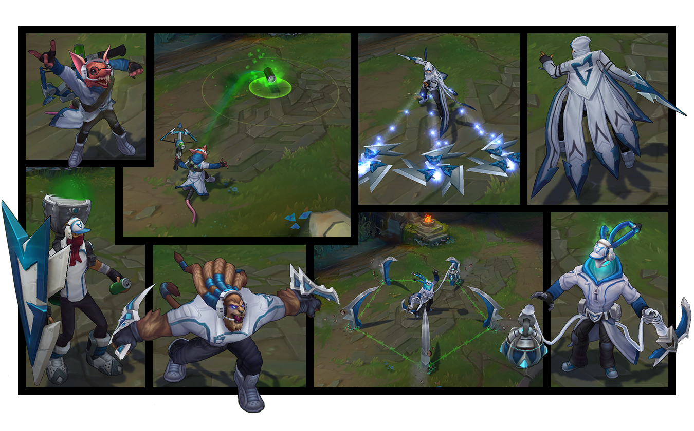 samsung white championship skins take the stage league of legends