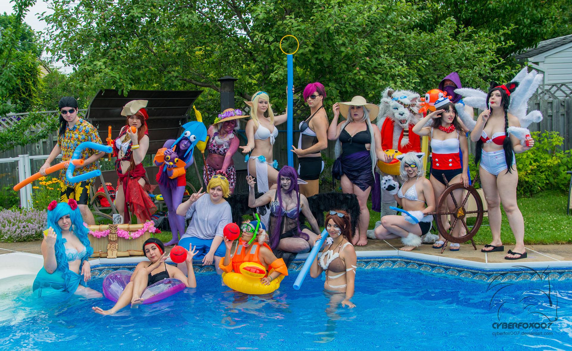 Pool orgy galleries 67