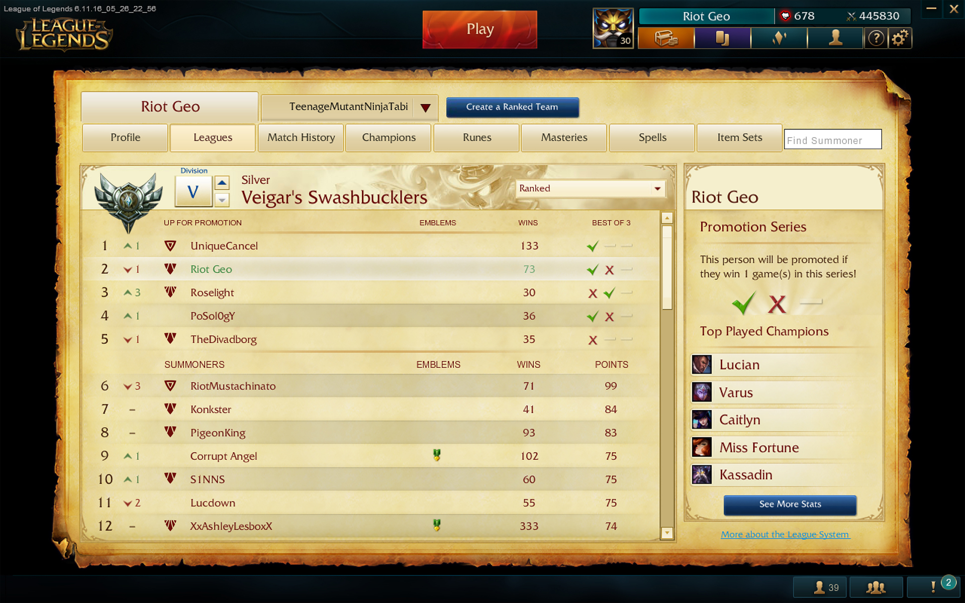 how to change profile border lol
