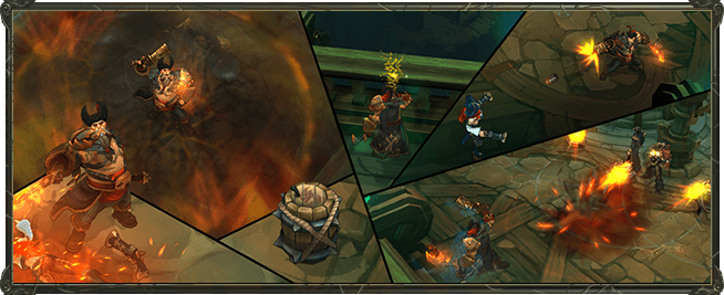 New Gangplank model and abilities