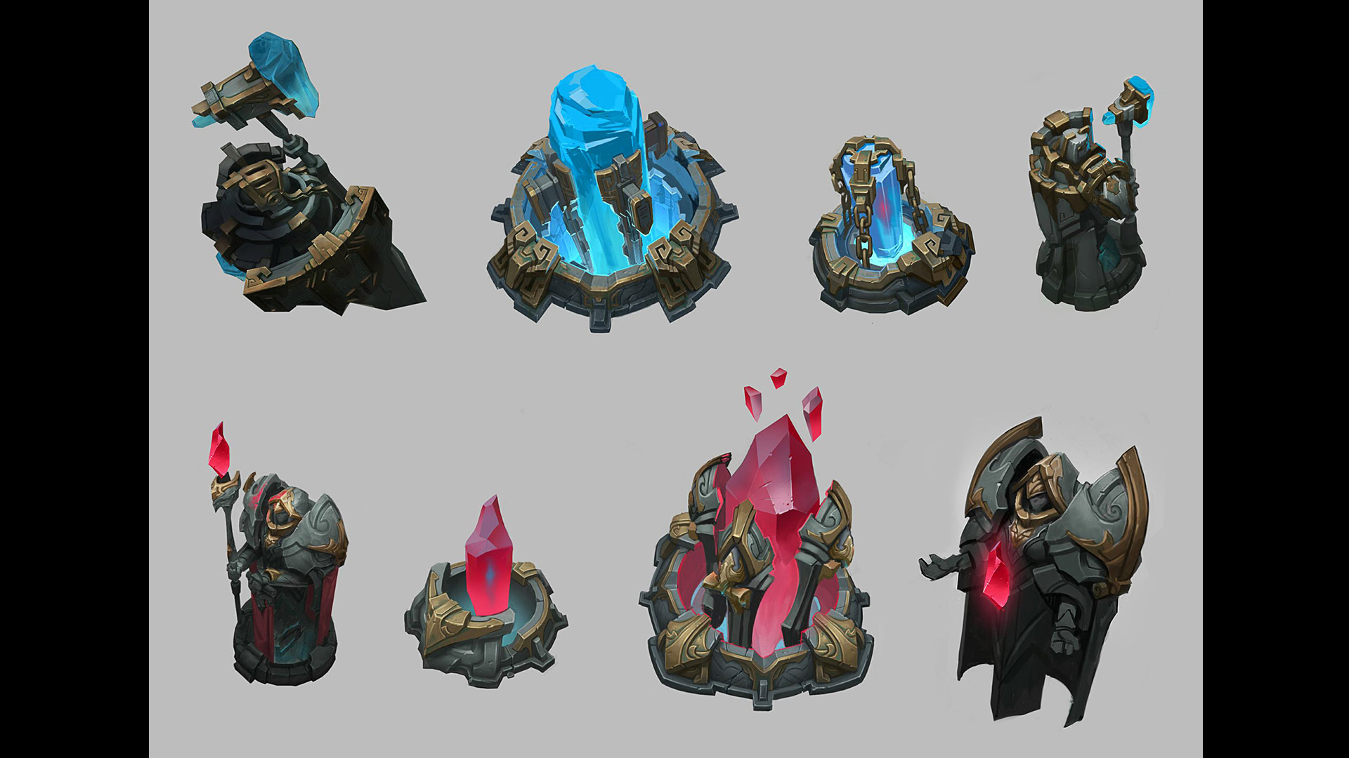 Check Out Some Summoner S Rift Concept Art League Of Legends