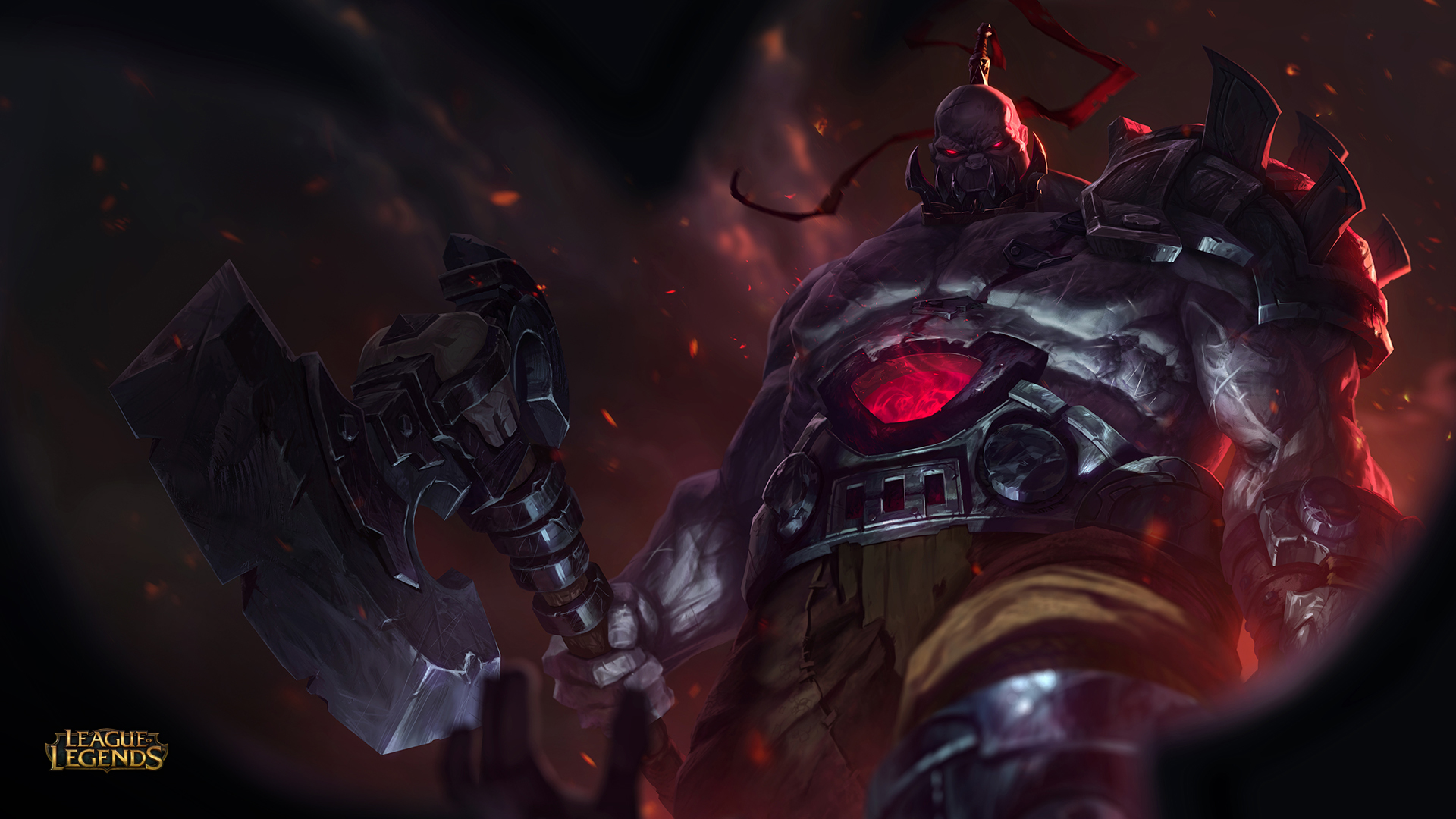 Sion, the Undead Juggernaut, revealed