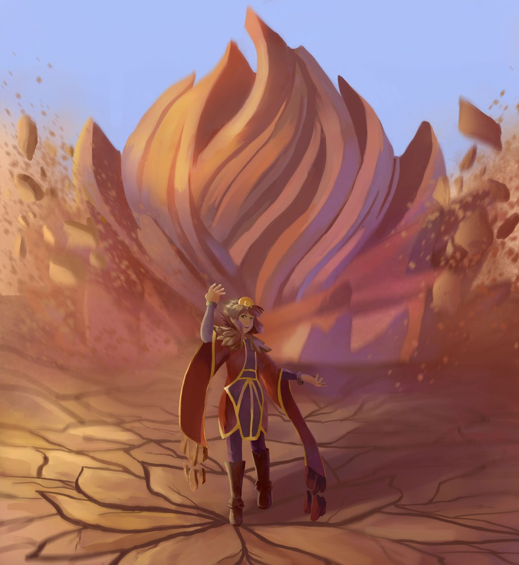Taliyah community art! | League of Legends